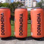 replica inflável Dopamina mindful drink
