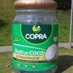replica inflável copra óleo de coco