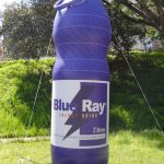 replica inflável Blue ray energy drink