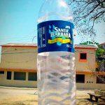 replicas-infláveis-santa barbata garrafa de água