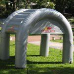 Carglass vidros tenda inflável
