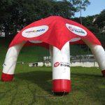 tenda inflável promocional honda