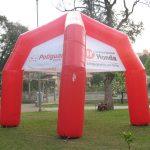 tenda inflável consórcio