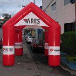 tenda inflável Ares motos