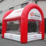 Consórcio nacional tenda inflável