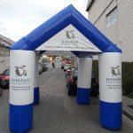 tenda inflável Damásio