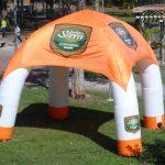 tenda inflável Sonhos e serra