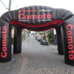 tenda inflável Comoto honda