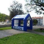 tenda inflável Elgin