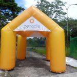 tenda inflável Paradis
