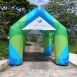 tenda inflável verana