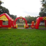 tendas infláveis rádio 98 FM