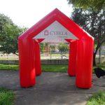 tenda inflável Cyrela urbanismo