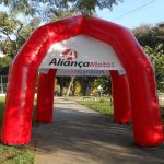 tenda inflável Aliança