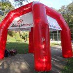 tenda inflável Aliança motos