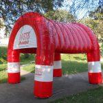 moto nanuque tenda inflável