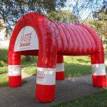 tenda inflável moto nanuque