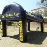 tenda inflável Fibra móveis design