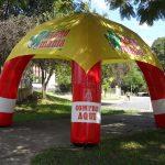 tenda inflável Agro mania