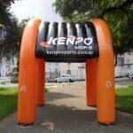 tenda inflável Kenpo sports