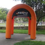 tenda inflável Kenpo