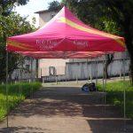 tenda inflável Bob dog