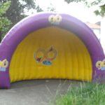 96 a rádio de natal tenda inflável