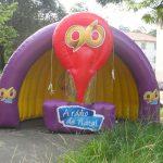 tenda inflável 96 a rádio de natal