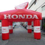 tenda inflável Honda