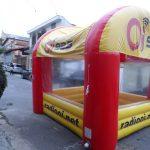 OI 92.5 FM tenda inflável