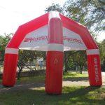 Reconflex tenda inflável