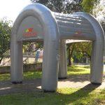 tenda inflável carglass