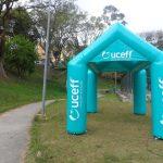 tenda inflável Ouceff
