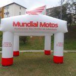 tenda inflável Mundial motos