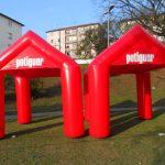 tenda inflável Pontiguar