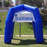 tenda inflável Italínea