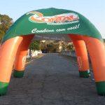 tenda inflável Portal multimarcas