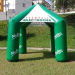 tenda inflável Farmácia ]silva rocha