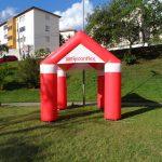 tenda inflável Reconflex