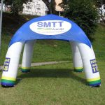 tenda inflável SMTT Aracaju