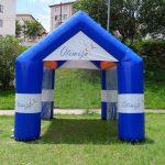 Otimiza tenda inflável