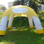 tenda inflável Renault