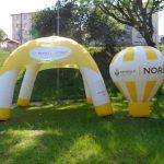 tenda inflável Renault nord