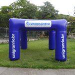 Ungranrio tenda inflável
