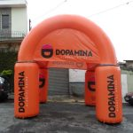 Dopamina tenda inflável