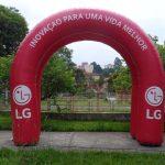 LG tenda inflável