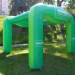 tenda inflável Unimed convênios
