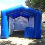 tenda inflável movimento consciência verde