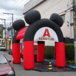 tenda inflável Aerotur