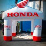 tenda-inflável-cometa motocicletas honda